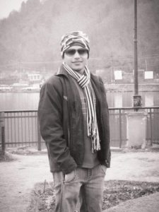 Standing in Cold Weather in Kashmir
