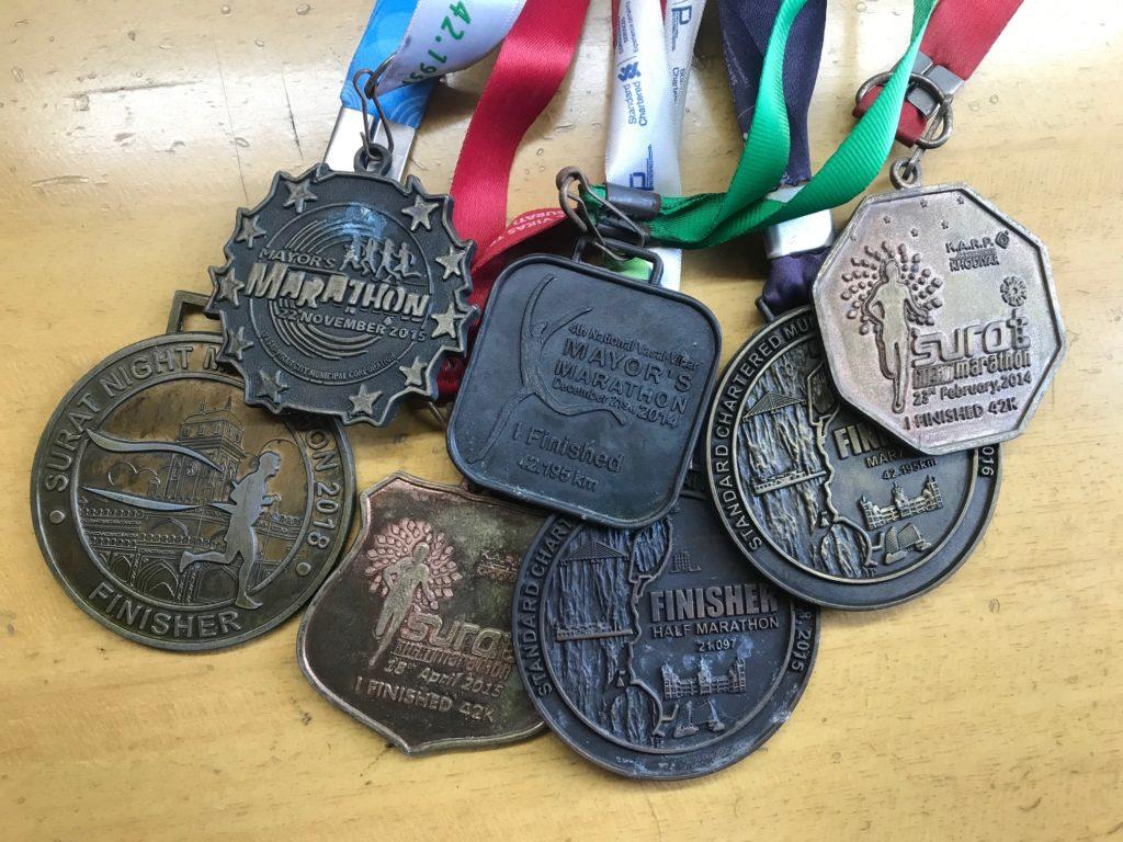 All My Marathon's Medal