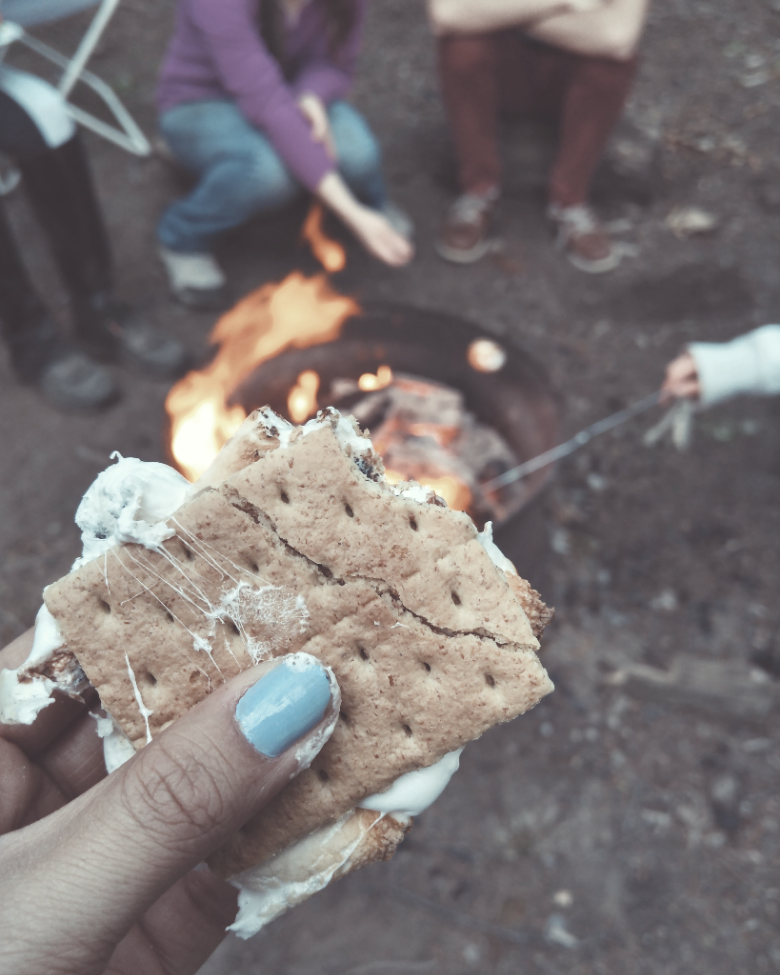 Food during camping together