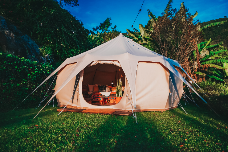 Tent with cover